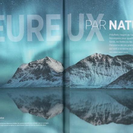 Pleine page Hors série Norvège<br /> Octobre 2018