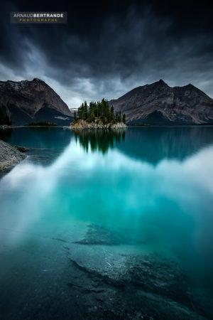 Upper kananaskis Lake-2