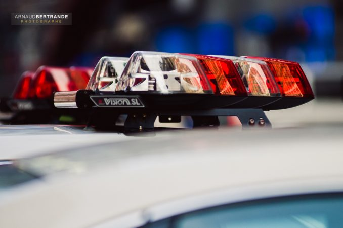 Gyrophare de police
