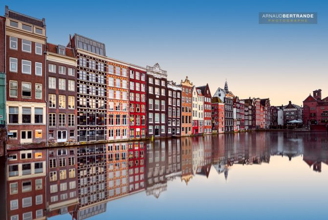 Calme sur Amsterdam