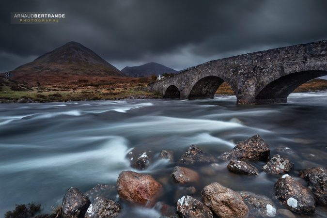 Mysterious bridge of Sligachan