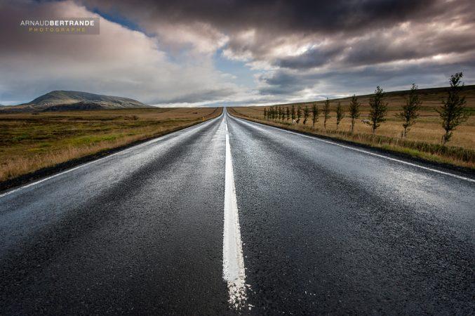 Sur la route en Islande