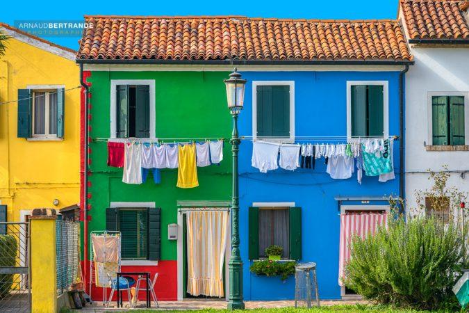 Maisons colorées de Burano #1