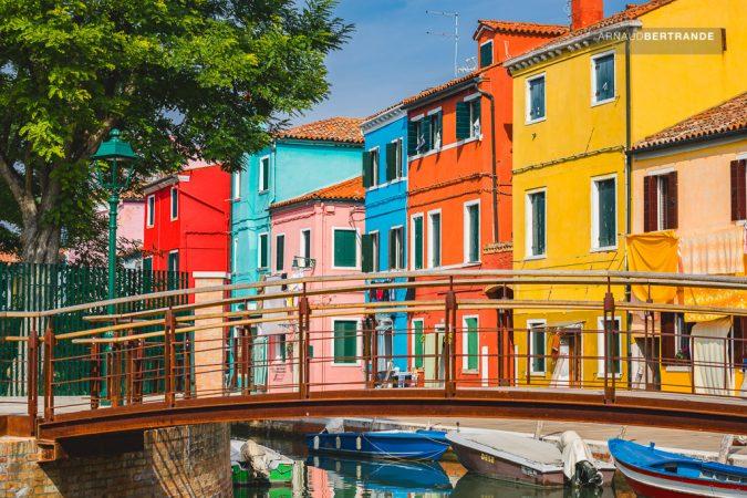 Maisons colorées de Burano #2