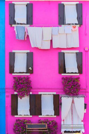 Maisons colorées de Burano #3