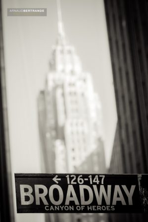 Panneau Broadway