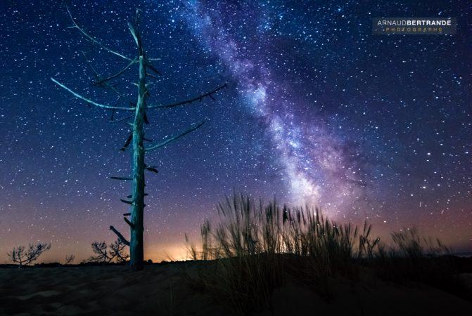 Voie Lactée sur la Dune du Pilat